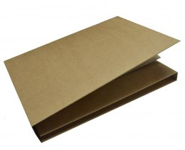 Trifold - craft photo album 15,5x20,5cm with box GoatBox