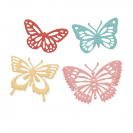 Cutting dies - butterflies - 4 pcs - Dp Craft