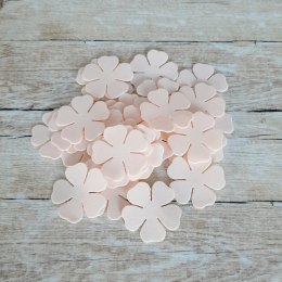 Petals set I, 4 cm, peach, 30 pcs