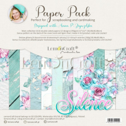 Set of scrapbooking papers - Silence - Lemoncraft
