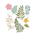 Florals Scrapbooking die set- 8 pcs - Dp Craft